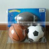 3 Mini PVC Sports ball for 4 year-old kids