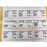 thermochromic color changing sticker ultra destructible label material uv resistant self adhesive vinyl labels