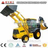 2014 new mini articulated backhoe loader WZL25-10 , tractor loader and backhoe excavator, China construction machinery