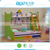cute 805 child bunk beds with slide storage