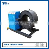 China machinery different models Topa hydraulic finn-power hose crimping machine