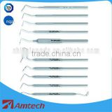 dental hand instruments medical periodontal probe CE certifacate