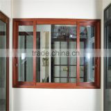 Customized Sliding Aluminium Window and Door with Thermal-Break /Wood Grain and Powder Coating
