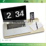 Slate 2..0 with Desk Space--The Bamboo Mobile Lap Desk on Leg for 11'' to 13''