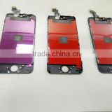 Phone parts lcd screen digitizer repair for iphone 5 touch lcd screen