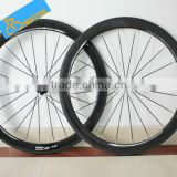 700c 50mm clincher carbon road bike wheels carbon bike racing wheelset,chinese carbon wheels for sale.