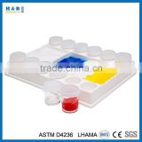 Painting Palette and Storage Cup Set Palette Sealed Cup