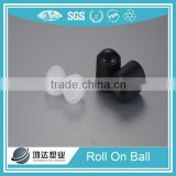 PP plastic clear deodorant roll on ball container supplier