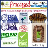 "Organic Processed Dates Healthy Fruit Products,High Quality Healthy Dates ""Deglet Noor"" Category, Fresh Dates Fruit, 2 Kg"