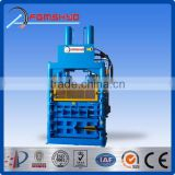 hydraulic vertical waste paper baler,YD1-30 wool baler for plastic, cartoon,straw,hay packing machine