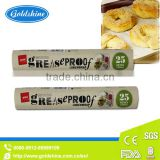 good greaseproof waterproof heat resistant non-stick silicone coated baking parchment paper