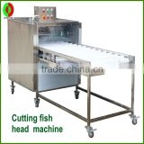 factory output fish head cutting machine and opening shrimp back machine