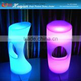 New night club bar stools led plastic bar stools,home party and event luminous led chair