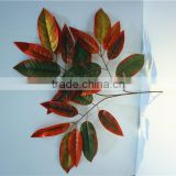 Home and outdoor garden table wedding christmas decoration 60cm or 2ft Height artificial colorfully maple leaf E06 0660