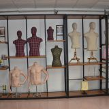 New pattern clothing window display shelf for sale