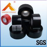 HC3 Type 30mm Width 120M length Black hot foil stamp printing coding