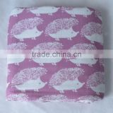 Animal full printed Bright Color muslin baby swaddle blankets