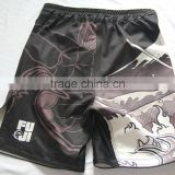 wholesale new deight for board plain blank spandex lycra womens men custom sublimation mma shorts