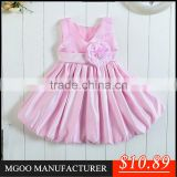 MGOO Girl Flowers Factory Kids Wedding Dress Kids Gown Designs Infant Tutu Dress 0-68