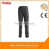 China supplier new product wholesale safety garments black cargo work pants for men