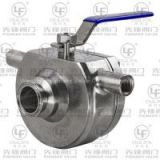 Sanitary Jacketed Ball Valve (WBQ81F-16P)
