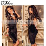Fashion new style sexy nighty dress picture of lace sexy transparent night dress latest women sexy nighty dress