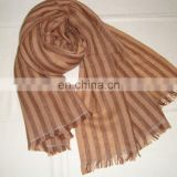 Cashmere Shawls Herring Bone stripes