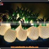 Attractive inflatable pineapple model,inflatabel lighting pineapple decoration,light fruit advertising display