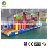 soccer giant high quality inflatable obstacle for adults