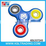 Novel design plastic finger toys bearing ceramic spinner