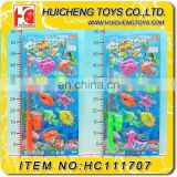 New magic Eco-friendly colorful 9PCS ocean animals with hook plastic fishing game toys set EN71, 7P