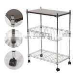 wire supermarket trolley with wheels cabinet supplier