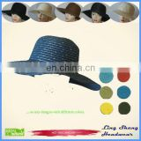 LSP-100 Wholesale 100% paper straw wholesale vintage cheap fedora straw hats