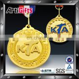 Factory direct sale golden new medal and trophy