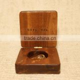 Custom Made Wooden Ring Gift Box,Small Wood Jewelry Boxes                                                                         Quality Choice
