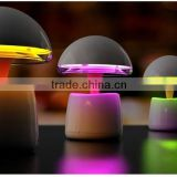 Multifunctional mushroom wireless bluetooth stereo led lamp TF card speaker                                                                         Quality Choice