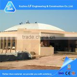 Base price light space frame steel structure function hall design