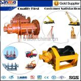 hydraulic/electric winch for wood/marine/crane