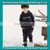 Classic kids long sleeve clothing sets/kids winter clothes/kids wholesale winter clothes