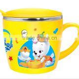 CC-SP20004 304# stainless steel tokyo insulated cup for kids with lid and hand (Accept OEM)