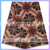 Mitaloo 100% Cotton Real Wax Prints Fabric African Nigerian Party Dress Fabric MCT0012