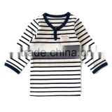 pajama japanese wholesale cute high quality border pattern babys sleeper kids wear infant clothes children clothing for boy