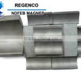 Strong Sintered Permanent Rare Earth Segment Neodymium NdfeB Arc Magnets for Rotors
