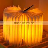 Creative Book Shape LED USB Night Light Book Lamp Best Home Novelty decorative light Creative fashion lamp