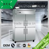 New arrival 4 door kitchen refrigerator freezer upright commercial freezer                                                                         Quality Choice