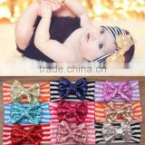Fancy elastic strip headbands baby girl hair accessories wholesale China                                                                                                         Supplier's Choice