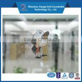 Waterproof self adhesive vinyl sticker non-glue static cling sticker decals sticker