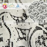 wholesale cheap white nylon cotton fall plate 3d guipure big heavy lace swiss voile lace for bridal dress