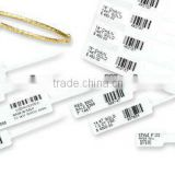Customed Jewelry Barcode Labels