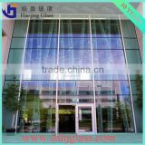 Hot sale balcony glass curtain wall system
